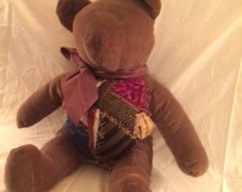 Victorian Quilted Bear