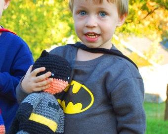 My Hero Batman PDF Crochet Toy Pattern INSTANT DOWNLOAD