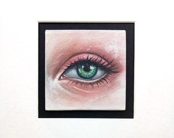 """Original oil painting """"Look"""""""