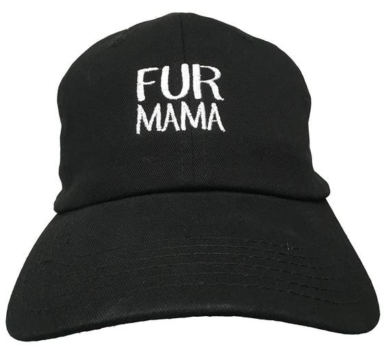 Fur Mama (Polo Style Ball Cap in various colors)