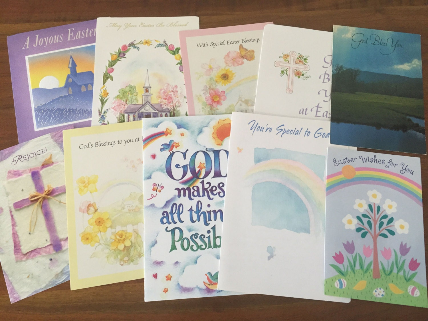10 vintage easter cards used greeting cards from the 1970s zoom m4hsunfo