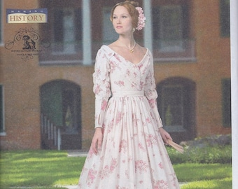 Butterick 5832 Misses Women's Victorian Dress UNCUT Sewing Pattern