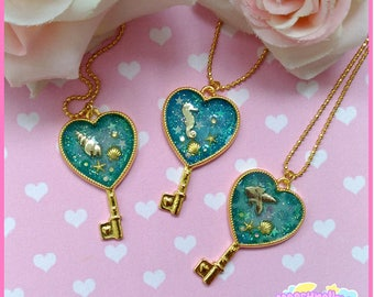 Heart of the sea necklace lolita style cute and kawaii
