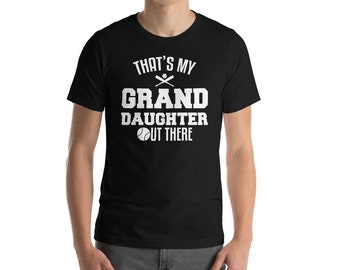Thats My Grand Daughter UT There T-shirt-Softball lover shirts-softball t-shirt-baseball shirt-baseball mama-softball team shirt-girls softb