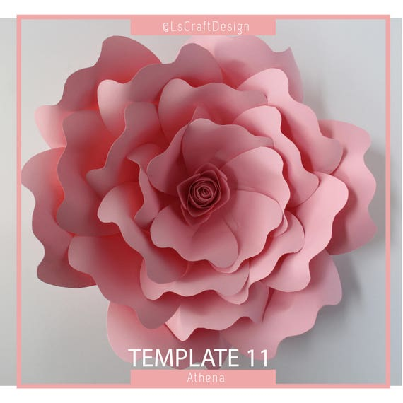 Pdf paper flower paper flower template giant paper flower template pdf paper flower paper flower template giant paper flower template flower template diy base and instruction including from lscraftdesign on etsy studio mightylinksfo