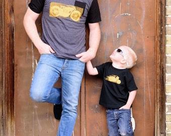 Daddy and me Motorcycle Tee Set