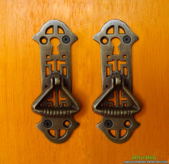 Unique Antique Cabinet Door Pulls