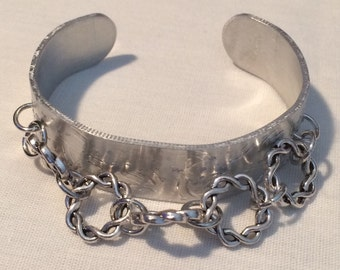 Braided Ring Cuff Bracelet