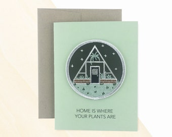 Greenhouse Patch Card, Greeting Card Messages, Send a Birthday Card, Greenhouse Gardening, Greenhouse Designs, Birthday Card Wishes, Patch