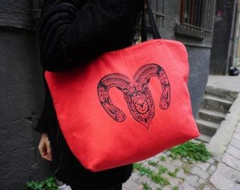 Ram shoulder bag