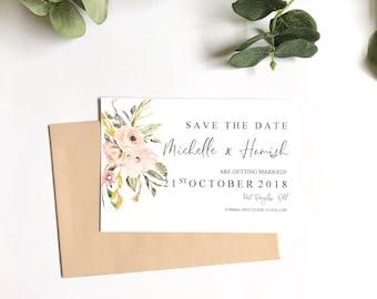 P R E T T Y   P A S T E L S | Save The Date Invitations | Printed Invitations | Getting Married | Weddings