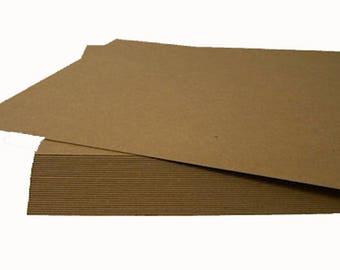 12x12 inch Chipboard Sheets, Natural Chipboard Sheets, Large Shipping Pads, ScrapBooking Sheets, 12x12 Album Making, Brown Display Board