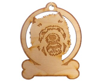 Westie Ornament - Westie Gift - Westie Ornaments - Westie Gifts - Westie Memorial - Westie Art - Personalized Free