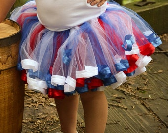 4th of july tutu toddler dress, tutu newborn fourth of july outfit of choice, patriotic clothing 4th of july dress toddler, NB-SIZE 12 T9A