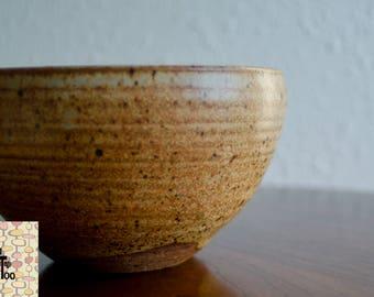 Vintage MCM Studio Pottery Bowl