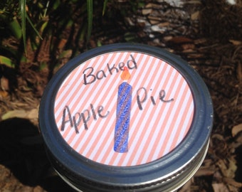 Baked Apple Pie Candle