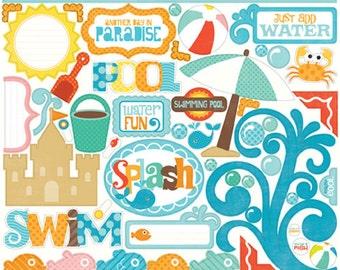 Echo Park Splash Element Stickers