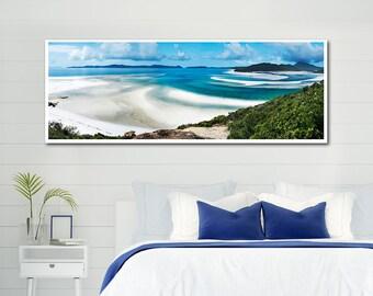 Whitehaven Beach, Whitsunday Islands, Great Barrier Reef Print, Large Wall Art, Ocean Print, Tropical Prints, Tropical Photo, Beach Print