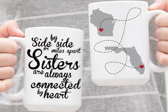 Personalizada de regalo hermana hermanas tazas tazas for Regalos para hermanas