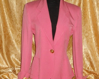 Genuine vintage Cheap and Chic by Moschino jacket