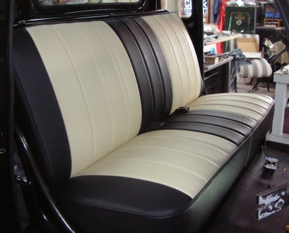 The Bonnie And Clyde Custom Car Upholstery Cover