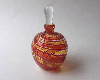 Medium Perfume Bottle - Red Yellow : DISASTER RELIEF