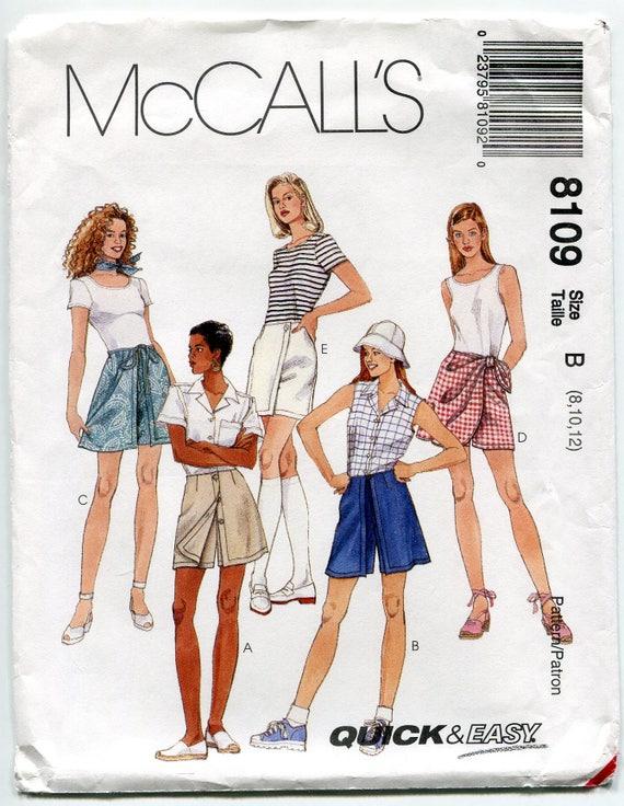 Jahrgang Skort Muster Roller Minirock gespielter Wrap Shorts