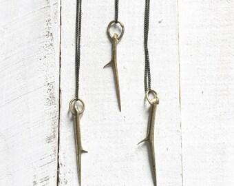 Honey Locust Thorn Necklace