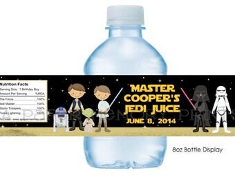 Star Wars Water Bottle Labels DIY Printable
