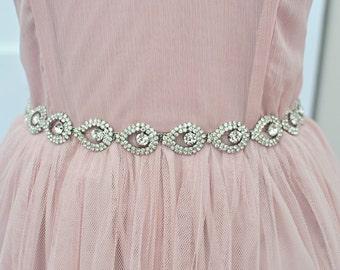Wedding Belt, sash, TIFFANY SASH, Bridal sash, Wedding belt