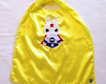 Team Super Animals - Star Bunny Yellow Cape