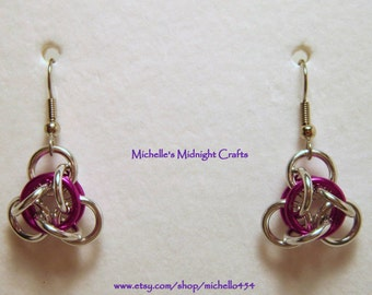 Not Tao Chainmaille Earring