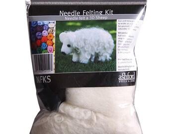 Ashford Beginner Needle Felting Kit (4 types)