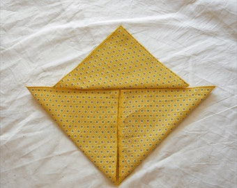 set of handkerchiefs washable ZD