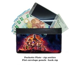 Zip envelope pouch - avengers infinity war - #001