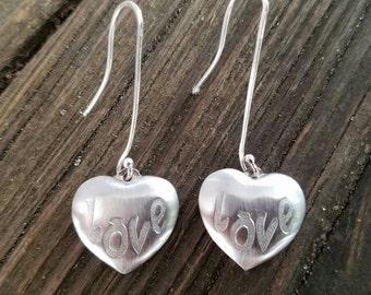 Simply Love Silver Earrings