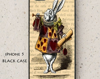 iPhone Cover(all models) - Samsung Galaxy case & other models -  Alice in Wonderland -  hard plastic or rubber - smartphone - mobile