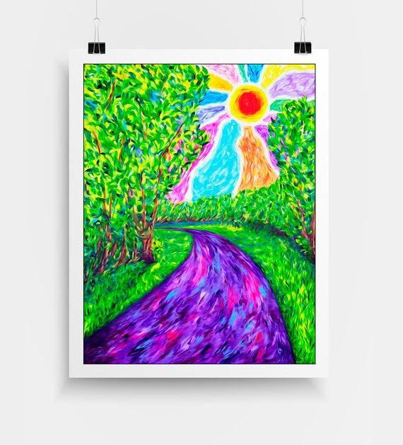 Stream of Consciousness Print