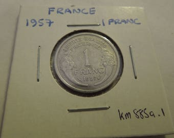 French Coins, France 1955 to 1999, 1 to 100 Francs - Sell By The Piece