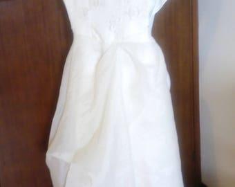 Old Hollywood Vintage 1950s short Dress ceremony