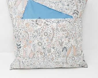 Support Pillow for Hysterectomy - Breast Reconstruction - Endometriosis - Chest/Abdominal Surgery - Cotton/Minky Post Surgery Comfort Pillow
