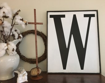 Letter sign, Fixer Upper Inspired Signs,32x24, Rustic Wood Signs, Farmhouse Signs, Wall Décor