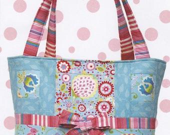 Tote, or Diaper Bag Pattern - Bow Bag