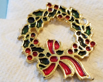 Vintage Beatrix Christmas Tree Brooch, Christmas Tree Brooch