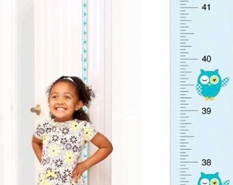 PeekaBoo [Blue Owl] Growth Chart Track and Measure Height