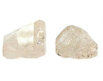 Golden Topaz Gemstone Crystal Gem Rough Wire Wrap Semiprecious DIY Craft Jewel Semi Precious Gem Stone Raw Earth Nuggets Himalayan Sunshine