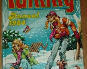 vintage book ... TAMMY ANNUAL 1984 ...
