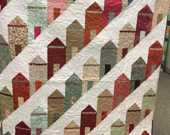 Painted Houses Quilt