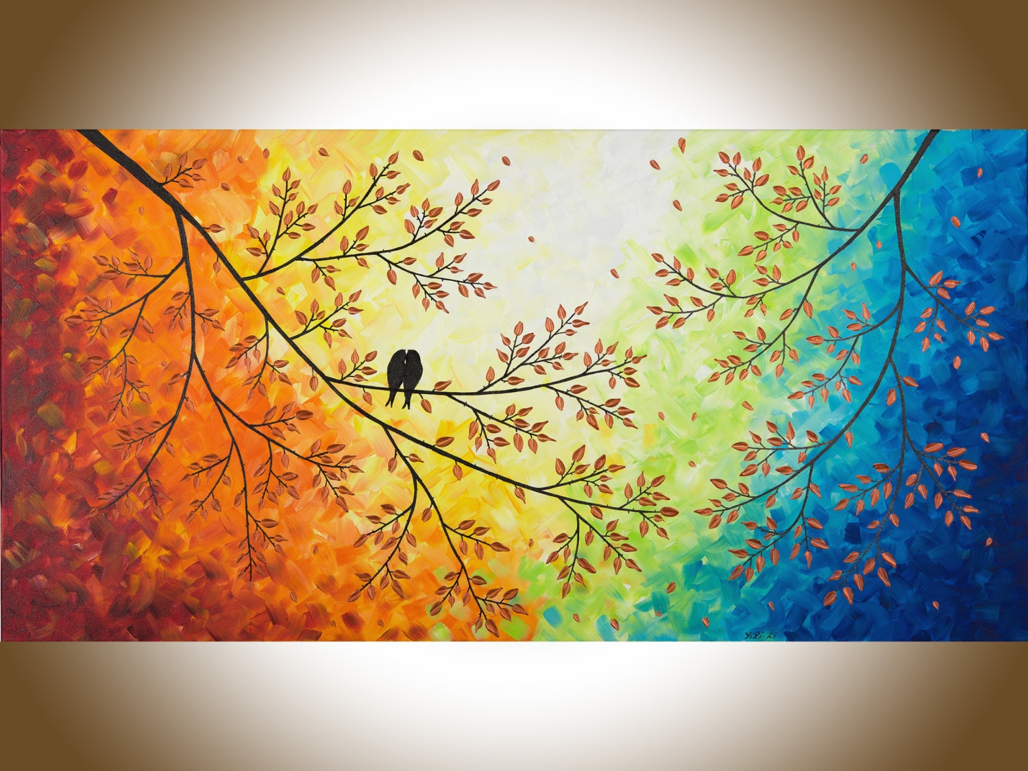 Beautiful Birds On A Wire Wall Decor Gallery - The Wall Art ...