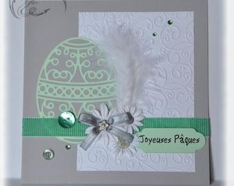 Card, Happy Easter, scrapbooking